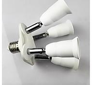 e27 bis 4 e27 LED-Lampe Einfaßungsadapter