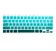 SoliconeKeyboard Cover For11.6 '' / 13.3 '' / 15.4 '' Macbook Pro con Retina / MacBook Pro / Macbook Air con Retina / MacBook Air