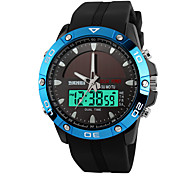 Skmei® Men's Dual Time Zone Solar Multifunction Sports Wrist Watch 30m Waterproof Assorted Colors
