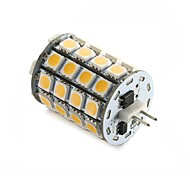 5W G4 Luminárias de LED  Duplo-Pin T 49SMD SMD 5050 560±10%LM(The actual measurement) lm Branco Quente / Branco Frio DecorativaDC 12 / AC
