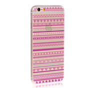 Kinston® Painted Purple Retro Pattern TPU Case For iPhone 7 7 Plus 6s 6 Plus SE 5s 5c 5 4s 4
