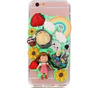 Cream Series A  TPU+PC Back Case For Iphone6s/6/6s Plus/6 Plus