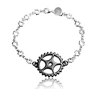 Christmas Gift Black and Silver Fashion Jewelry Bracelet for Girl