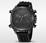 WEIDE® Men's Luxury Brand Double Time Analog-Digital Multifunctions Waterproof Sports Watch Fashion Watch
