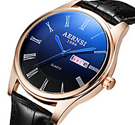Men's Fashion Personality Quartz Alloy Dress Watch(Assorted Colors)