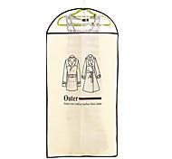 9984 gruesos overclothes polvo chaqueta objeto ropa cubierta de la bolsa a prueba de polvo traje de la cubierta que cuelgan por mayor