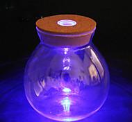 1pc conduit diy nuit Noctilucence conteneur artware lumière bouteille veilleuse