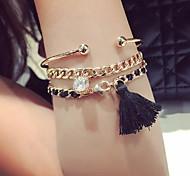 Bracelet Chaînes & Bracelets / Charmes pour Bracelets / Manchettes Bracelets Alliage / Acrylique Others Mode / Bohemia styleQuotidien /