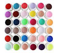 gel de cor uv gel de cor 36 cores