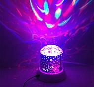 1pc Batterie stochastische Muster Nachtlicht Lampe Hausprojektorlampen brillante Cartoon Nachtlicht