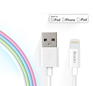 Benks Apple Approved 2.4A Fast Charging MFi Cable For iPhone 5/5s/ 6s/ 6plus
