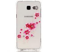 Per Samsung Galaxy Custodia Resistente agli urti / Con diamantini / Con torcia LED / Transparente Custodia Custodia posteriore Custodia