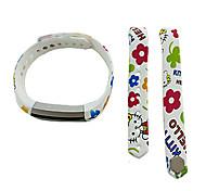 Smart Strap Bracelet Colorful Printing Silicone Bracelet For Fitbit Alta(10)