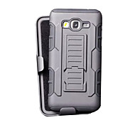 DE JI TPU+PC 3 in 1 Armor Heavy Duty Rugged Impact Belt Clip Case Cover For Samsung Galaxy Grand Prime G530/Core Prime