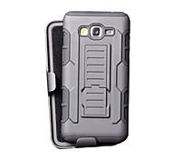 Pour Samsung Galaxy Coque Antichoc Avec Support Coque Coque Arrière Coque Armure Polycarbonate pour Samsung Grand Prime Core Prime