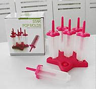 6pçs Cozinha Criativa Gadget Plástico / Polipropileno Utensílios de Gelado