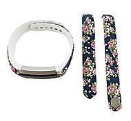 Smart Strap Bracelet Colorful Printing Silicone Bracelet For Fitbit Alta(02)