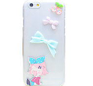 Back Rhinestone Other PC Hard Case Cover For Apple iPhone 6s Plus/6 Plus / iPhone 6s/6