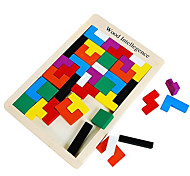 Tetris Intellectual Building Blocks Rb13 Selling Children'S Educational Wooden Jigsaw Puzzle Wooden Toys