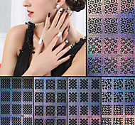 Nail Art Nail Sticker Diecut Maniküre Schablone