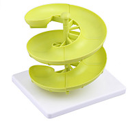 Plastic Egg Baskets Spiral Racks Kitchen Storage Racks Egg Storage Boxes And Racks Three-Layer