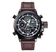 Men's Sport Watch Digital / Japanese QuartzLCD / Remote Control / Calendar / Chronograph / Water Resistant/Water Proof / Dual Time Zones