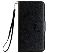 Litchi Grain Wallet Stand Shell Cover PU Leather With Cash Card Holder Phone Case For Samsung J120/J3/J510/J710/J1/J5/J7