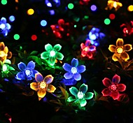 Solar Fairy String Lights 7m/23ft 50 LED Cherry Bossoms Decorative Gardens, Lawn, Patio, Christmas Trees, Weddings