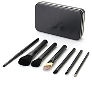 7 Makeup Brush Set Beauty Kit Portable Box