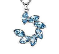 Women's Pendant Necklaces Pendants Crystal Crystal Fashion Dark Blue Blue Pink Jewelry Daily Casual 1pc
