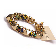 Bracelet/Chain Bracelets Alloy Fashionable / Adjustable Wedding / Daily / Casual Jewelry Gift Gold,1pc