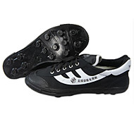 Black Wearproof Rubber Running Shoes for Unisex