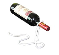 Silver Creative Personality Suspended Wine Rack