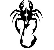 Fashion The Little Scorpion Pattern PVC Bathroom or Bedroom or Glass Wall Sticker Home Decor