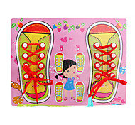 Girls Shoelaces Practicing Toy