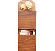 oferta de madeira especial retro americano tapeçaria país pendurado de armazenamento de rack criativo flor treliça decoração da parede