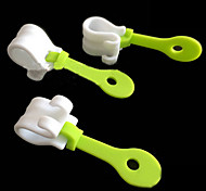 Icing Bag Clips DIY Piping Decorating Bag Buckles Reusable Baking Tools Holds Decorating Bags No Icing Leaks,Set of 3