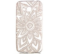 New Lace  Hollow Pattern TPU Case For Samsung Galaxy J3(2016)