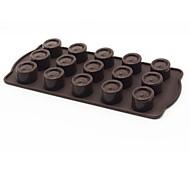 Small Oval Chocolate Pudding Mold 15 Even Silicone Mold Diy Nonstick Baking Tool Fda Food Grade