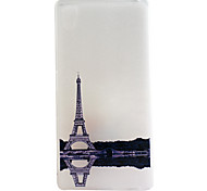 Eiffel Tower Pattern Frosted TPU Material Phone Case for Sony Xperia Z5 Premium/Z5