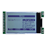 128*64 JLX12864G-360-PN Dot Matrix COG LCD Module Screen Vertical Screen Optional