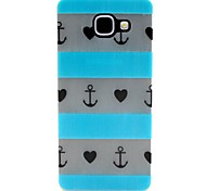 Anchor Pattern Pattern Relief Glow in the Dark TPU Phone Case for Motorola Moto G4/G4 Play