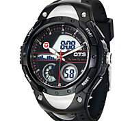 O.T.S Brand 2016 New Men Army Sport Digital Swimming Watches Dual Time Alarm Date Gift Quartz Watch Original Design