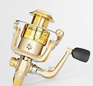 Carretes para pesca spinning 5.2/1 10 Rodamientos de bolas Intercambiable Pesca de baitcasting / Pesca en General-LA4000 Lvfu