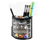 Effective Multifunctional Pen Holder Office Desktop Storage Box Combination