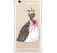 zurück Wasserdichte / Stoßfest / Transparent Other TPU WeichBack Shockproof/Waterproof/Transparent Wedding Dress TPU Soft Case Cover For
