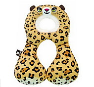 Animal Dolls Baby Neck Pillow Type U Travel Pillow Car Seat Cushion For 1-3 Years Old Baby (leopard)