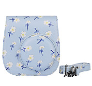 Instax Case Bag Case with Shoulder Strap and Pocket (Deer) for Fujifilm Mini8 Mini8s Mini8+ Flower