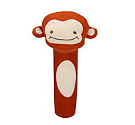 brinquedo mão de algodão do bebê animal bonito crianças handbell (macaco)