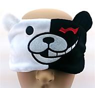 -Monokuma-Weiß-Kord-Maske
